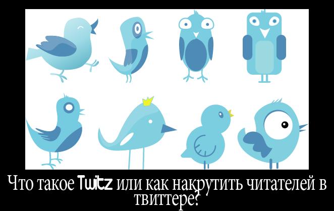 Урок 3: как накрутить читателей в твиттере(Twitz)